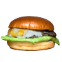 Poze produse site 90x90_Burger cu brânză-de capră și dulceață-de smochine